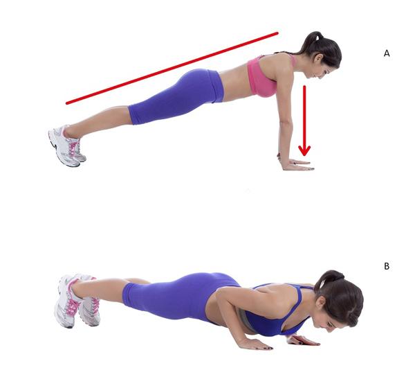 10 động tác giúp triệt tiêu mỡ thừa vùng lưng và hai bên nách - Ảnh 6