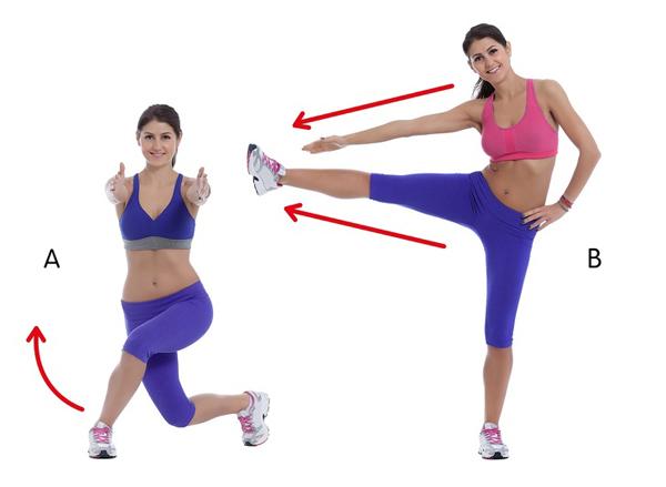 10 động tác giúp triệt tiêu mỡ thừa vùng lưng và hai bên nách - Ảnh 7