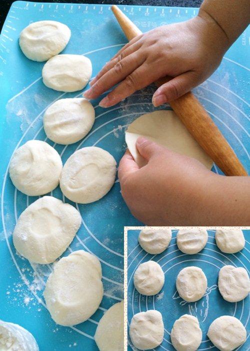 Bánh bao nhân khoai lang tím đơn giản, hấp dẫn - Ảnh 2