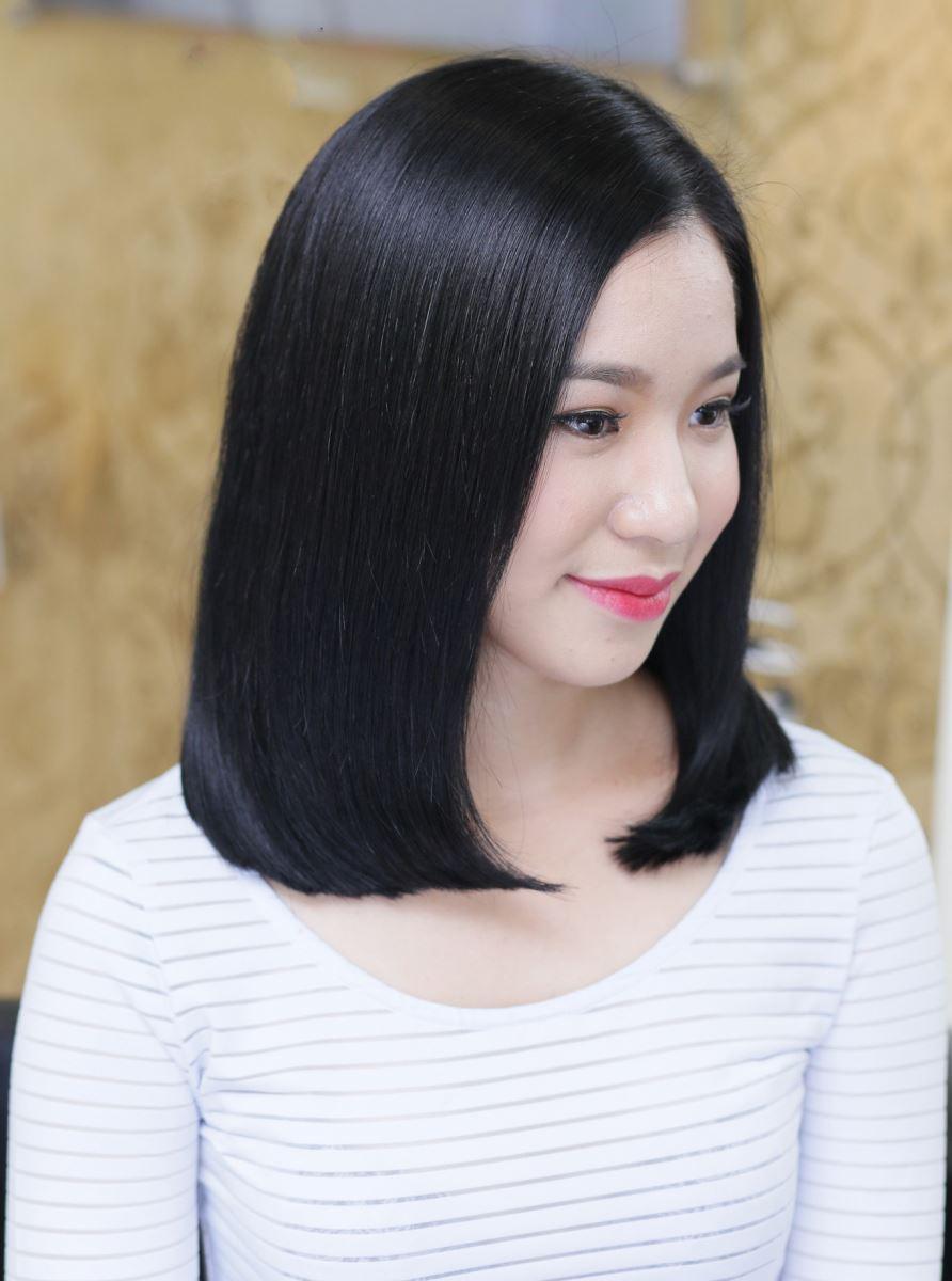 Những màu tóc nhuộm giúp làn da trở nên trắng sáng - Ảnh 1
