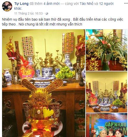 Xuân Bắc, Tự Long, Quang Dũng, Hương Tràm bày biện nhà cửa đón xuân - Ảnh 1