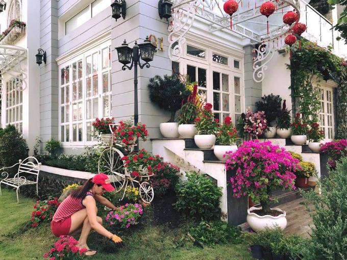 Xuân Bắc, Tự Long, Quang Dũng, Hương Tràm bày biện nhà cửa đón xuân - Ảnh 7