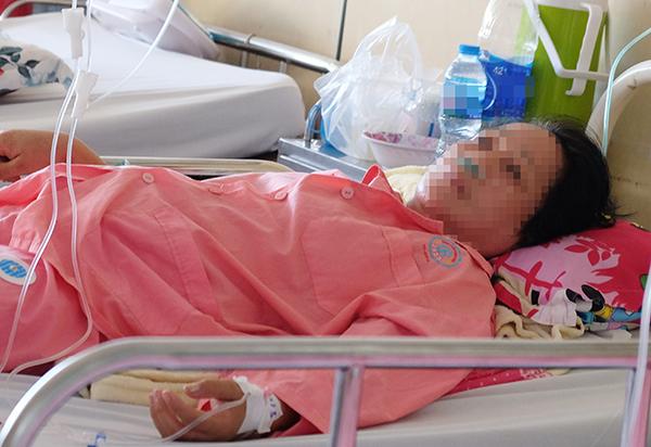 Bệnh nhân 4 lần nguy kịch khi nội soi gắp hạt mãng cầu khỏi phổi - Ảnh 2