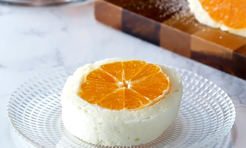 Bánh kếp trắng nhân cam mát lạnh ngày hè - Ảnh 1