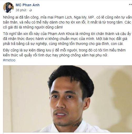 Phạm Anh Khoa mở họp báo cúi đầu nhận sai, sao Việt bắt đầu có thái độ mới - Ảnh 7
