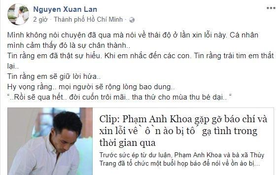 Phạm Anh Khoa mở họp báo cúi đầu nhận sai, sao Việt bắt đầu có thái độ mới - Ảnh 8