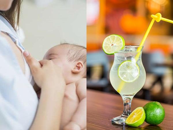 Uống nước chanh trong thời gian cho con bú, mẹ bỉm sữa sẽ nhận được những lợi ích không ngờ này - Ảnh 1