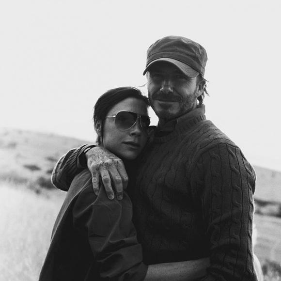 Tan chảy với những hình ảnh cực ấm áp của gia đình David Beckham trong