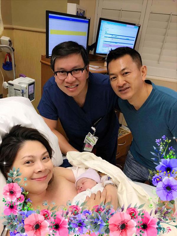 Thanh Thảo sinh con gái đầu lòng ở tuổi 41 tại Mỹ - Ảnh 1