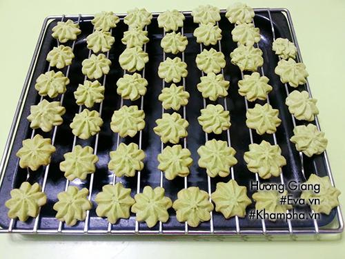 Chán mứt, làm bánh quy bơ vị trà xanh nhâm nhi ngày xuân - Ảnh 3