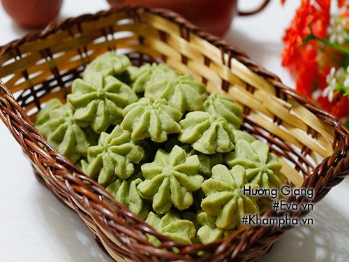 Chán mứt, làm bánh quy bơ vị trà xanh nhâm nhi ngày xuân - Ảnh 4