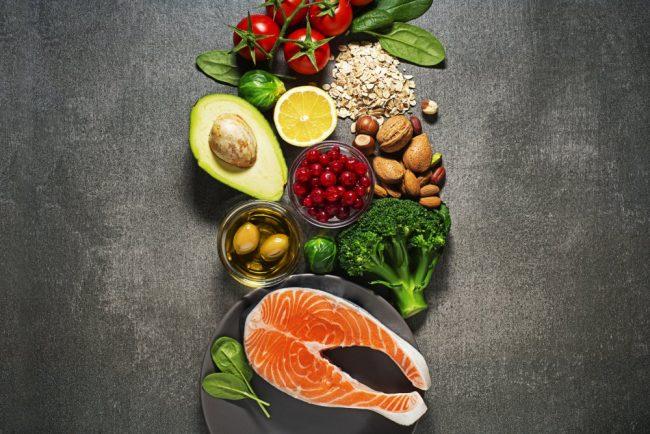 Chế độ dinh dưỡng phù hợp giúp giảm cân hiệu quả