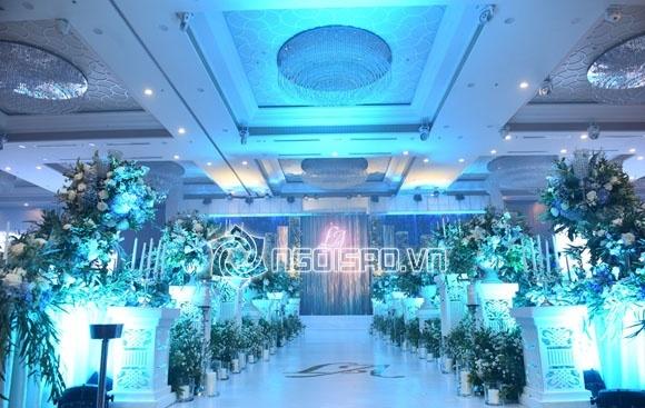 Cập nhật đám cưới Á hậu Tú Anh: Cô dâu xuất hiện xinh đẹp giữa không gian tiệc hoành tráng - Ảnh 13