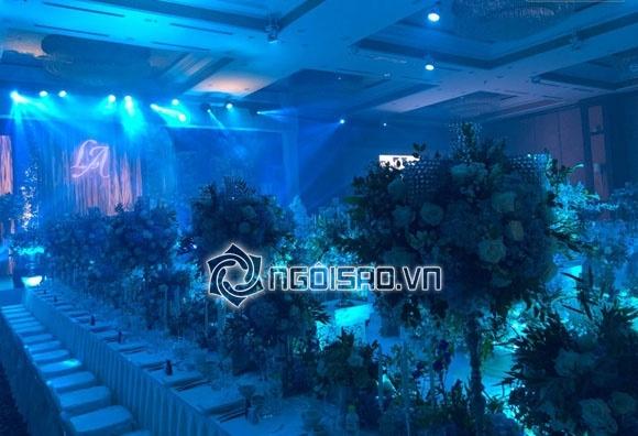 Cập nhật đám cưới Á hậu Tú Anh: Cô dâu xuất hiện xinh đẹp giữa không gian tiệc hoành tráng - Ảnh 14