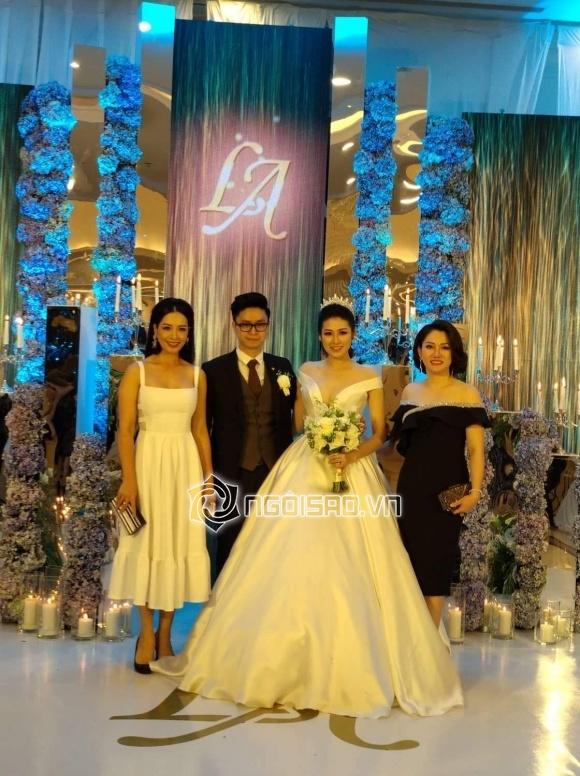 Cập nhật đám cưới Á hậu Tú Anh: Cô dâu xuất hiện xinh đẹp giữa không gian tiệc hoành tráng - Ảnh 4