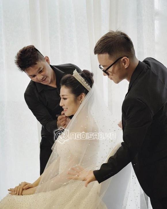 Cập nhật đám cưới Á hậu Tú Anh: Cô dâu xuất hiện xinh đẹp giữa không gian tiệc hoành tráng - Ảnh 10