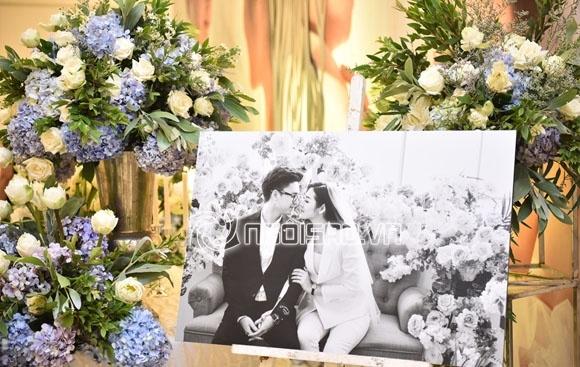 Cập nhật đám cưới Á hậu Tú Anh: Cô dâu xuất hiện xinh đẹp giữa không gian tiệc hoành tráng - Ảnh 11