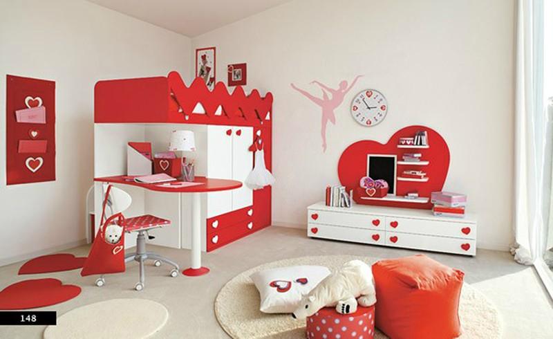 Thiết kế phòng của trẻ kết hợp màu trắng với màu sắc sặc sỡ - Ảnh 2