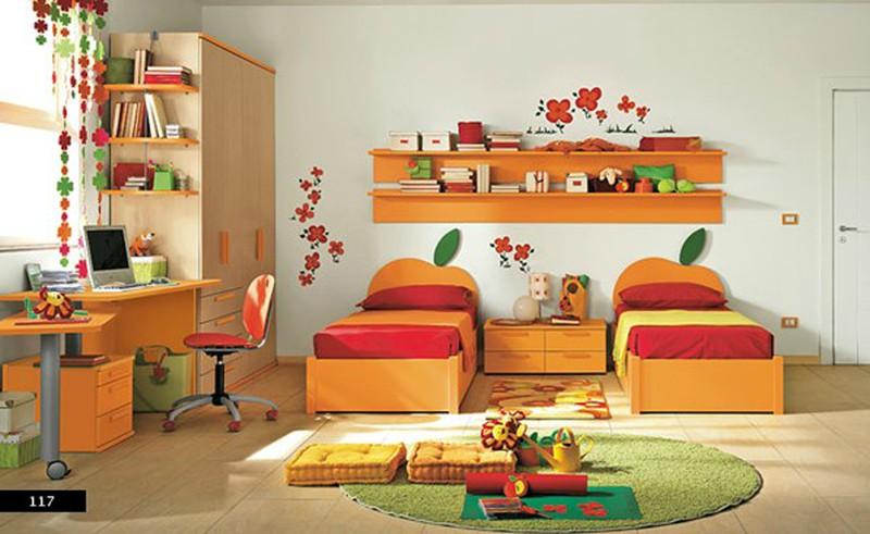 Thiết kế phòng của trẻ kết hợp màu trắng với màu sắc sặc sỡ - Ảnh 3