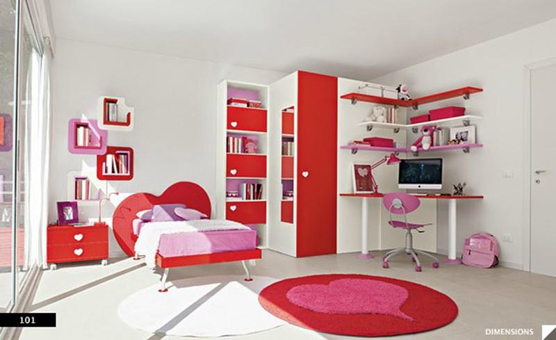 Thiết kế phòng của trẻ kết hợp màu trắng với màu sắc sặc sỡ - Ảnh 4