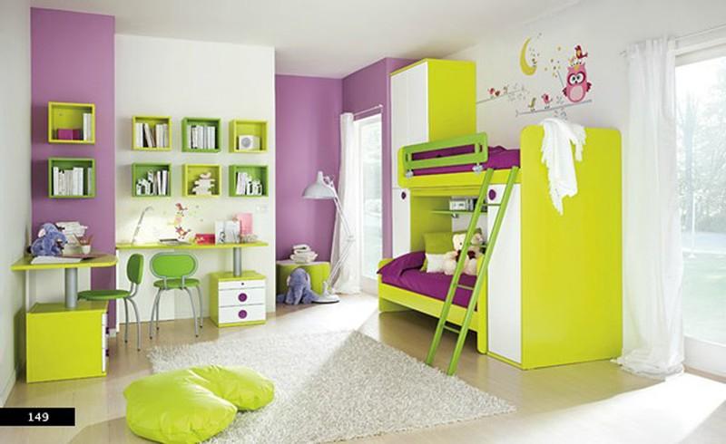 Thiết kế phòng của trẻ kết hợp màu trắng với màu sắc sặc sỡ - Ảnh 5