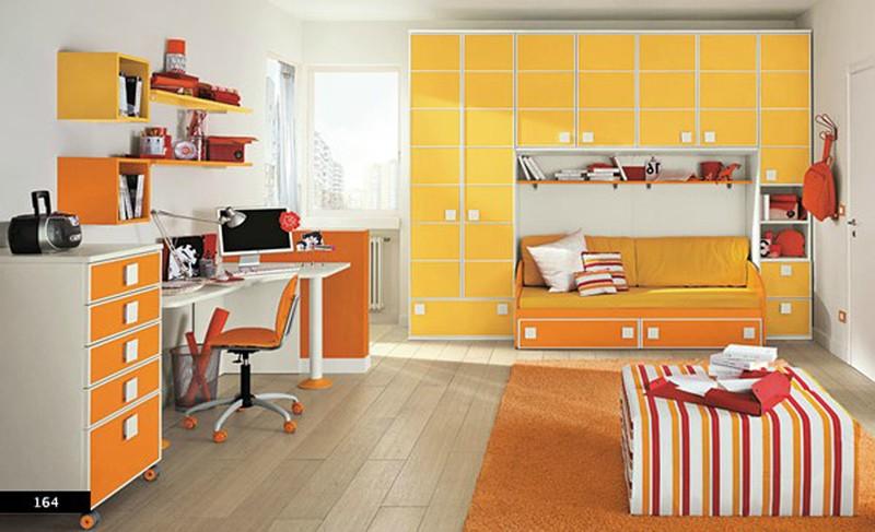 Thiết kế phòng của trẻ kết hợp màu trắng với màu sắc sặc sỡ - Ảnh 6