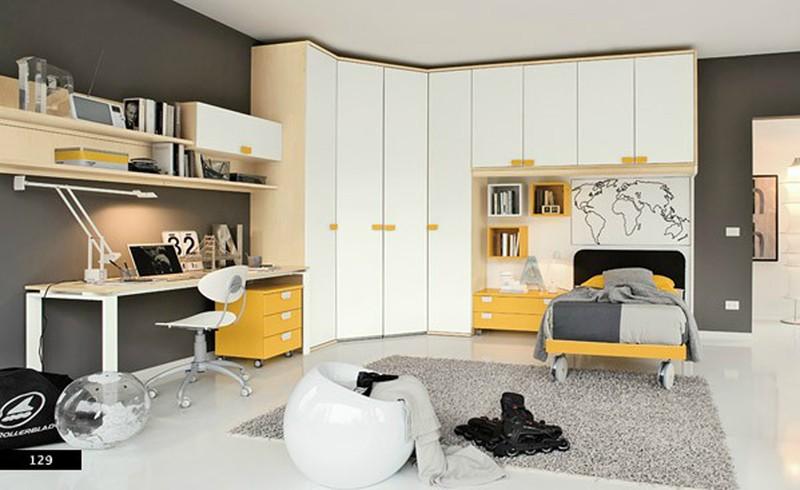 Thiết kế phòng của trẻ kết hợp màu trắng với màu sắc sặc sỡ - Ảnh 7