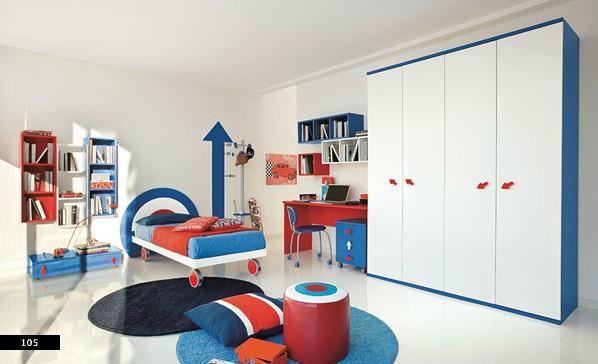 Thiết kế phòng của trẻ kết hợp màu trắng với màu sắc sặc sỡ - Ảnh 9