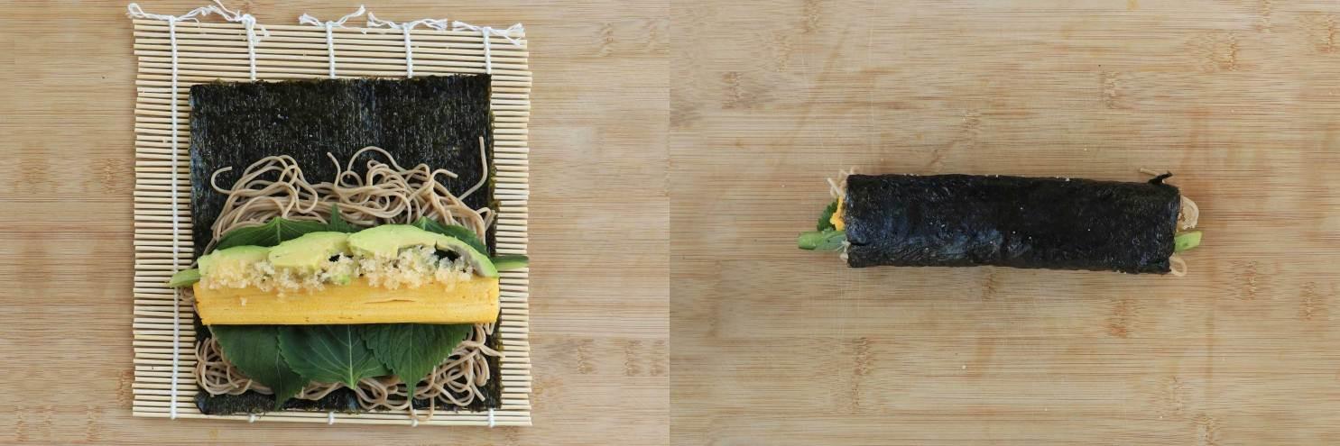 Bữa trưa lạ miệng với mì cuộn rong biển - Ảnh 2