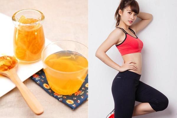 Uống trà vỏ bưởi mỗi ngày hỗ trợ giảm cân nhanh chóng