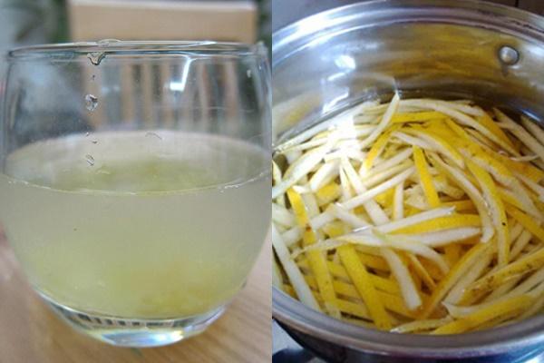 Nấu nước vỏ bưởi và bí đao uống hàng ngày để giảm cân