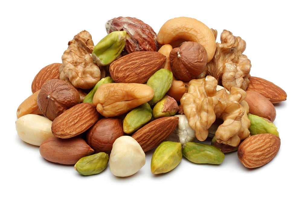 Người ăn kiêng nên chọn các loại hạt khô để giảm năng lượng tốt nhất