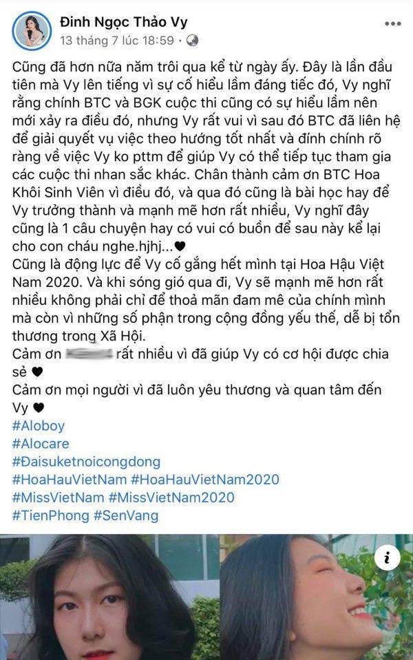Bị tố sửa mũi, nữ sinh 2K1 tìm đến Hoa hậu Việt Nam để chứng minh mình đẹp tự nhiên - Ảnh 1