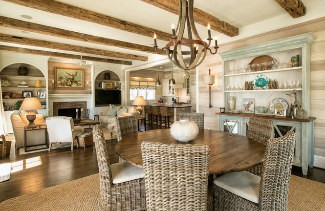 Các kiểu nội thất gỗ mộc vẫn khiến ngôi nhà đẹp nao lòng - Ảnh 8
