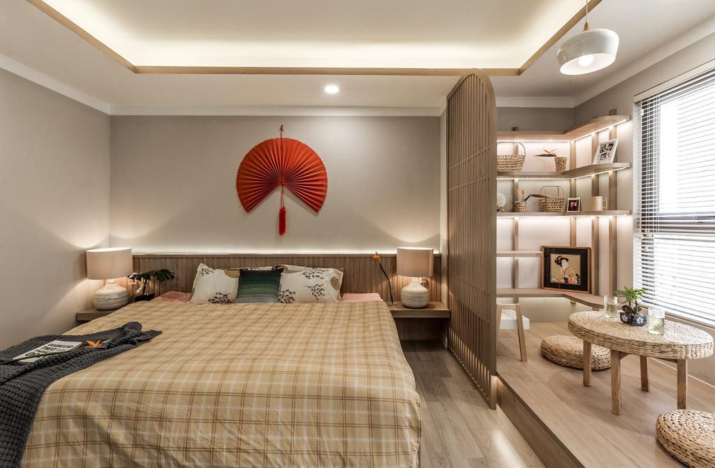 Căn hộ 75 m2 phong cách Á Đông với chất liệu gỗ chủ đạo - Ảnh 9