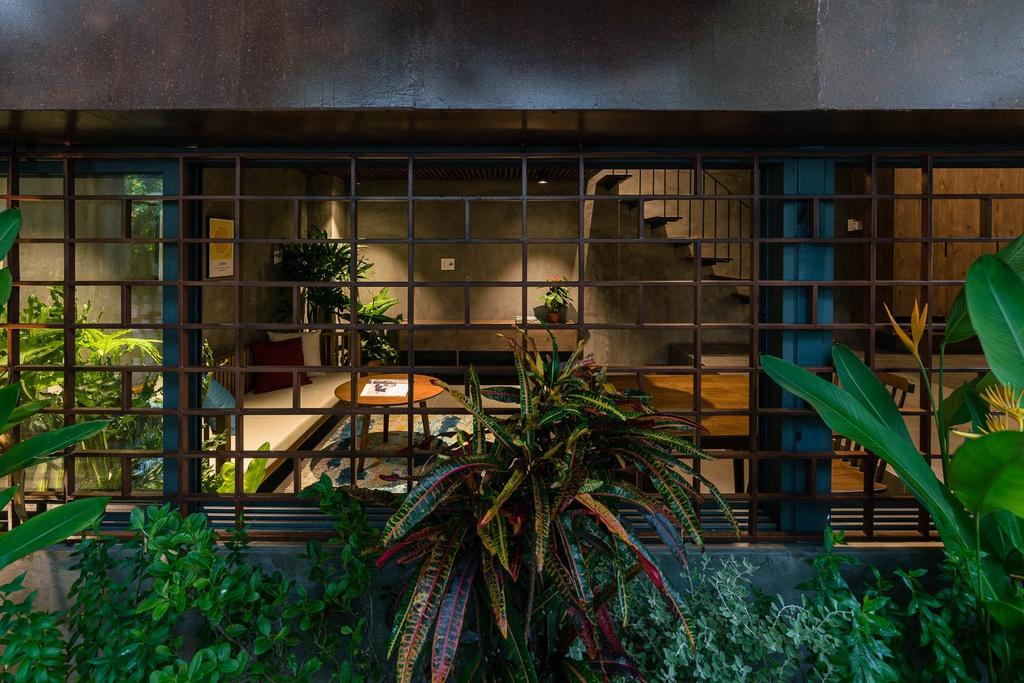 Ngôi nhà cho thuê với thiết kế nhiều khối ở Vũng Tàu - Ảnh 2