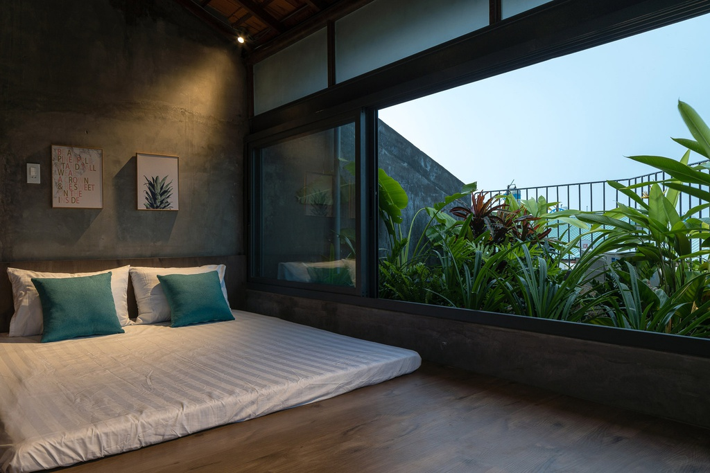 Ngôi nhà cho thuê với thiết kế nhiều khối ở Vũng Tàu - Ảnh 11