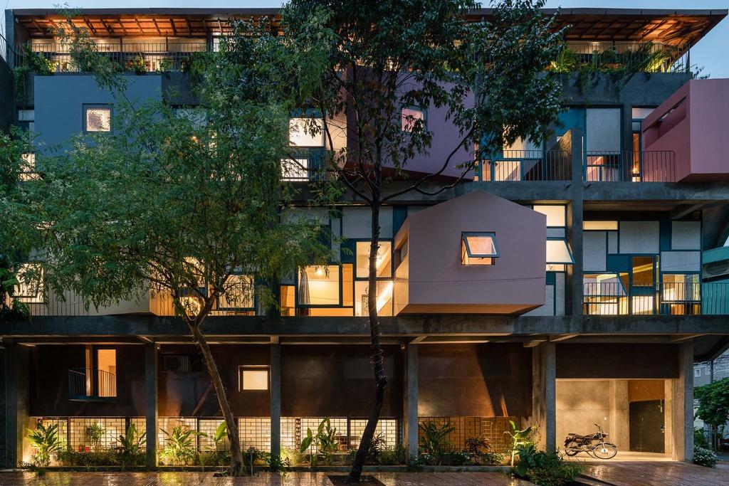 Ngôi nhà cho thuê với thiết kế nhiều khối ở Vũng Tàu - Ảnh 12
