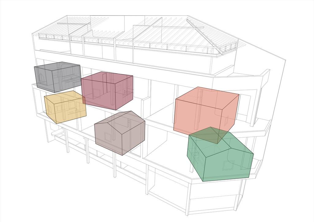 Ngôi nhà cho thuê với thiết kế nhiều khối ở Vũng Tàu - Ảnh 13