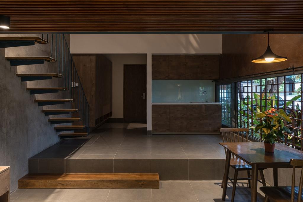 Ngôi nhà cho thuê với thiết kế nhiều khối ở Vũng Tàu - Ảnh 3