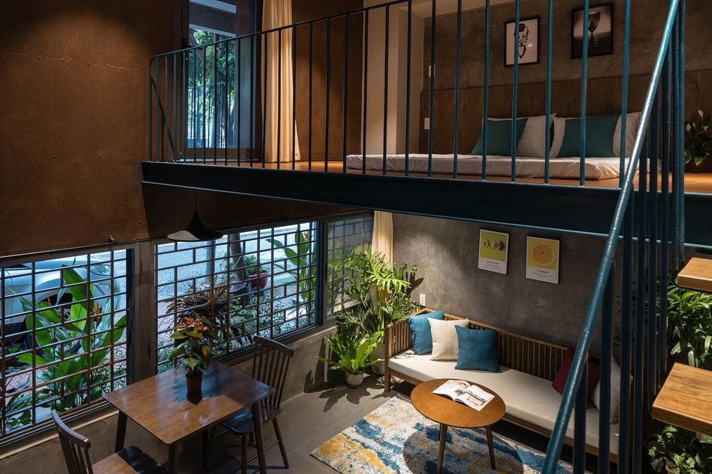Ngôi nhà cho thuê với thiết kế nhiều khối ở Vũng Tàu - Ảnh 4