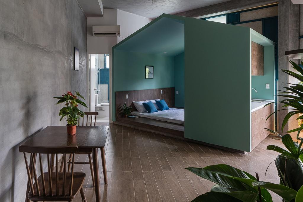 Ngôi nhà cho thuê với thiết kế nhiều khối ở Vũng Tàu - Ảnh 5