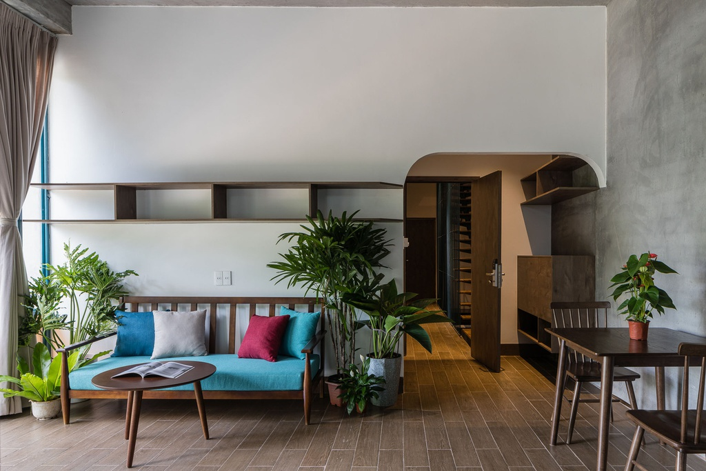 Ngôi nhà cho thuê với thiết kế nhiều khối ở Vũng Tàu - Ảnh 6