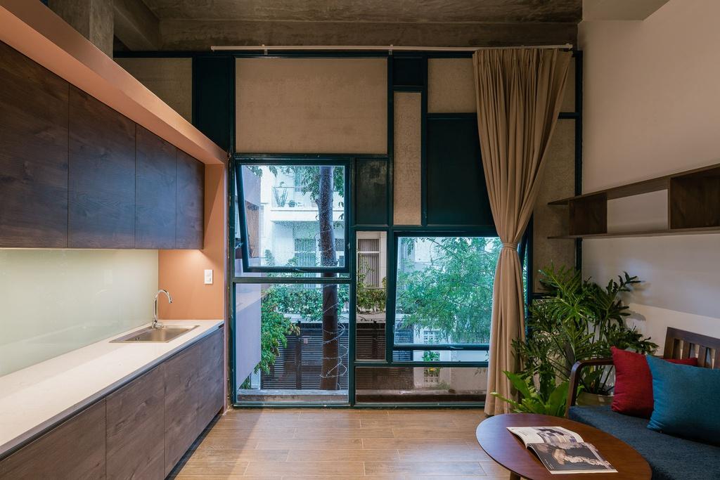 Ngôi nhà cho thuê với thiết kế nhiều khối ở Vũng Tàu - Ảnh 7