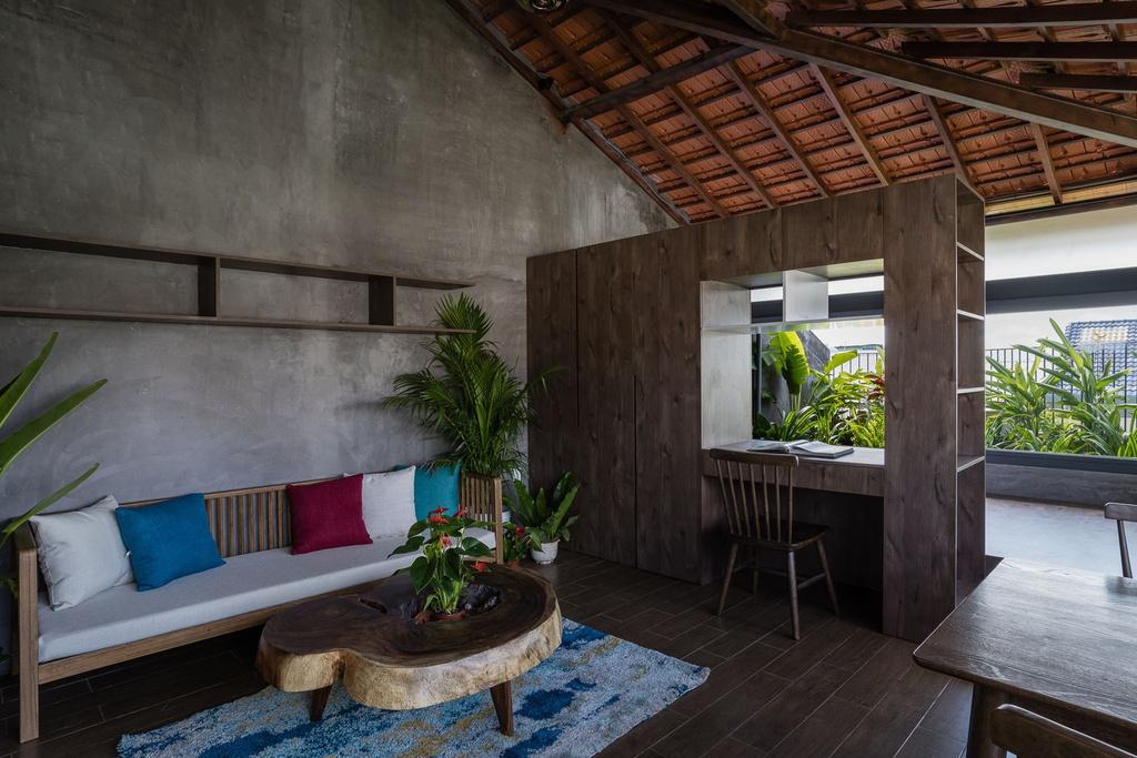 Ngôi nhà cho thuê với thiết kế nhiều khối ở Vũng Tàu - Ảnh 9