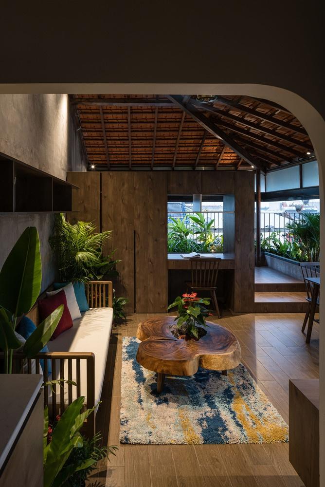 Ngôi nhà cho thuê với thiết kế nhiều khối ở Vũng Tàu - Ảnh 10