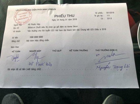 Các sao Việt hứa thưởng cho U23, đã có những ai thực hiện lời hứa? - Ảnh 4