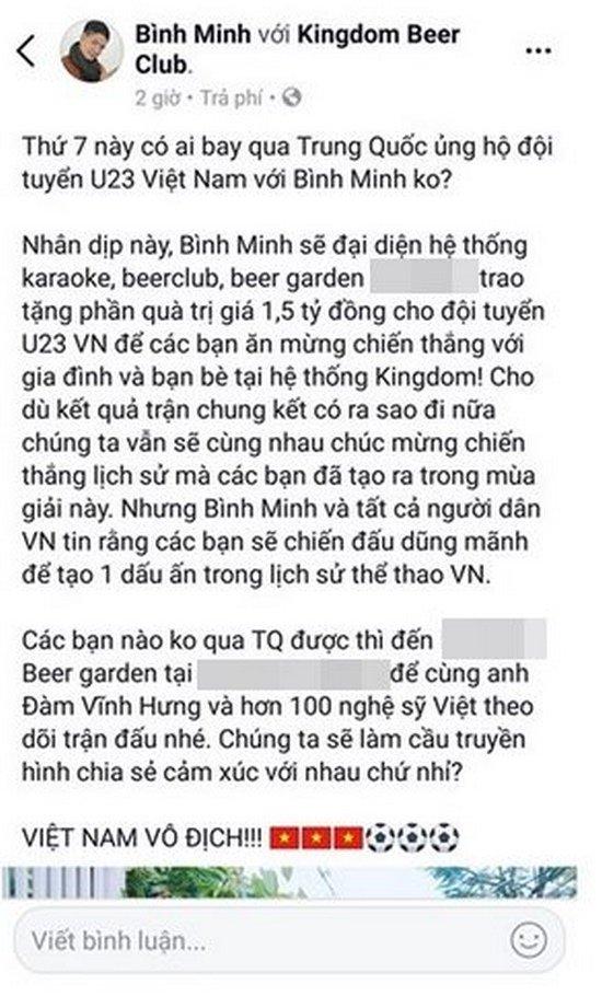Các sao Việt hứa thưởng cho U23, đã có những ai thực hiện lời hứa? - Ảnh 5