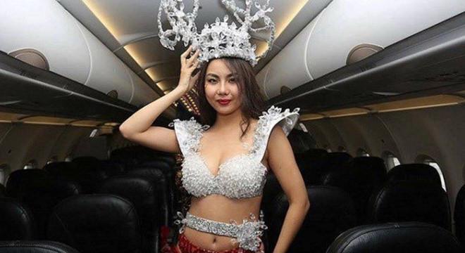 Vietjet xin lỗi Lại Thanh Hương sau vụ mặc bikini đón U23 Việt Nam - Ảnh 2
