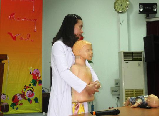 Tai nạn trẻ em: Khó cứu vì không được sơ cứu - Ảnh 1